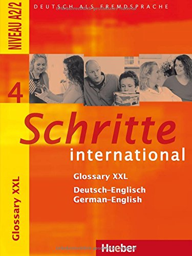 Schritte International: Glossary XXL 4 (German Edition)
