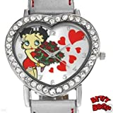 Betty Boop Heart Watch #BBW360C Women's Watch