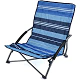 Sisken Low Folding Beach Chair