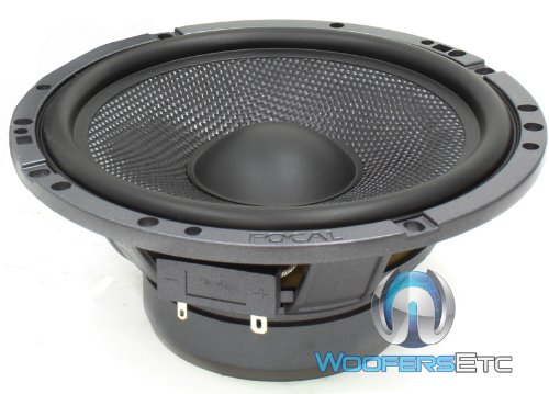 """Single Piece Midwoofer Focal 6.5"""" Midrange Speaker From Hp-165A3 Replacement"""