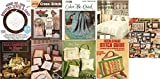 img - for 9 Volumes of Sewing Booklets: More Country Cats, Needlepoint Stitch Guide, Floral Monza Country Crafts, Warm Feelings, Egg Baskets to Weave, Candle Wick with a Trick, Color Me Quick, More Borders Cross Stitch, Hoop-De-Doo Quilting Quick & Easy book / textbook / text book