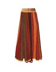 Sttoffa Womens Cotton Skirts -Multi-Colour -Free Size - B00MJO7ESQ