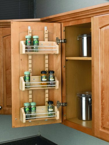Rev-A-Shelf - 4ASR-15 - Adjustable Door Mount Spice Rack