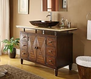 48 Quot Verdana Vessel Sink Bathroom Vanity Faucet Amp Vessel