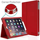 CaseCrown Bold Standby Pro Case (Red) for Apple iPad Air 2 with Hand Grip, Corner Protection, & Multi-Angle Viewing Stand (Built-in magnetic for sleep / wake feature)