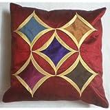 JBG Home Store Stylish Five Star Cushion Cover (Set Of 5)(JBG 123)