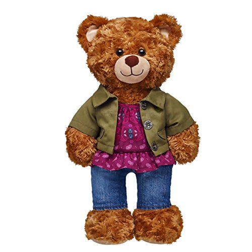 Build-a-Bear Workshop Army Jacket & Jeans Outfit 3 pc. (Build A Bear Army compare prices)