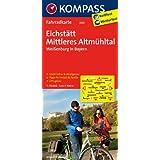 Eichstätt - Mittleres Altmühltal - Weißenburg in Bayern: Fahrradkarte. GPS-genau. 1:70000 (KOMPASS-Fahrradkarten Deutschland)
