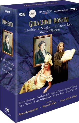 Gioachino Rossini - Box (Barbier v. Sevilla, Türke in Italien, Moise und Pharaon) [4 DVDs]