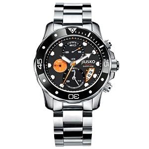 Jiusko Deep Sea Series Men's Stainless Steel Divers Watch 72lsb12 from JIUSKO