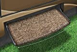 Prest-O-Fit 2-0201 Brown Jumbo Wraparound Radius Step Rug