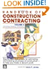 Handbook of Construction Contracting: Estimating, Bidding, Scheduling, Vol. 2