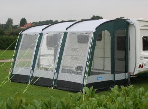 Kampa Rally 390 Awning Lagoon Blue 2012