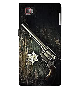 Stylish Hand Rifle Cute Fashion 3D Hard Polycarbonate Designer Back Case Cover for Lenovo Vibe Z2 Pro :: Lenovo K920 :: Lenovo Vibe Z2 Pro K920