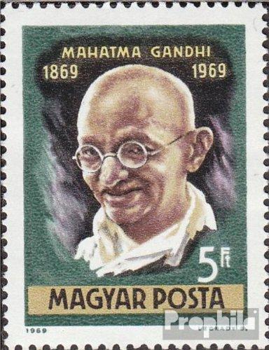 Ungarn 2544A (kompl.Ausg.) gestempelt 1969 Ghandi (Briefmarken für Sammler)