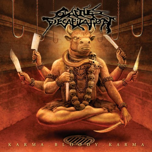 Original album cover of Karma.Bloody.Karma by Cattle Decapitation