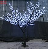 9.8' Pre-lit LED White Cherry Blossom Sakura Tree Garden Patio Outdoor Indoor