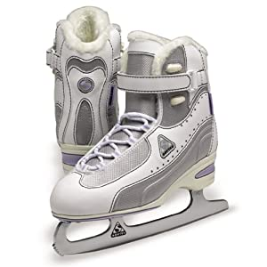 Jackson Softec Vantage Ice Skates - ST3000 White Ladies Figure Ice Skates by Jackson