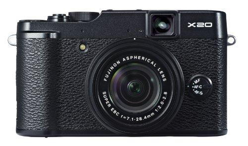 FUJIFILM デジタルカメラ X20B 光学4倍 ブラック F FX-X20B