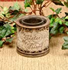My Sister My Friend Inspirational Votive Candle Holder By Drake Design