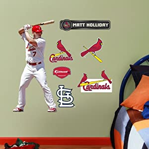 MLB St. Louis Cardinals Matt Holliday Junior Wall Graphics by Fathead