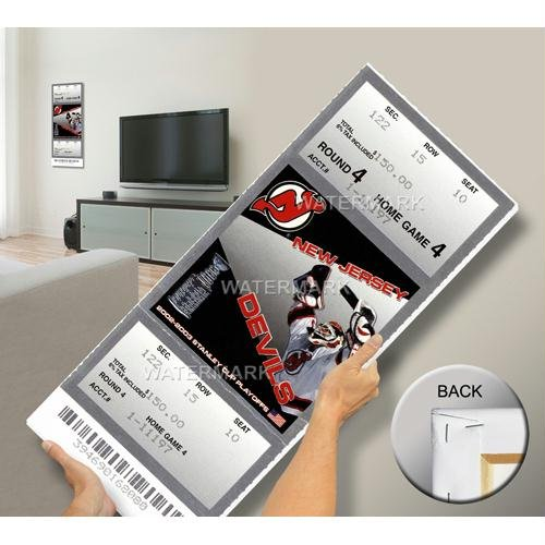 2003 Stanley Cup Mega Ticket - New Jersey Devils