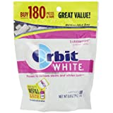 Orbit Chewing Gum White Bubblemint (our best Gum That Whitens Teeth)