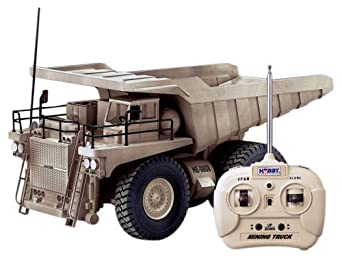 Amazon.com: Hobby Engine Remote Control Mining Truck: Toys & Games
