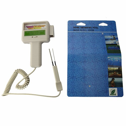 Swimming Pool Spa Water Quality Ph Cl2 Chlorine Digital Ph Tester Level Meter Pc 101 Home Garden