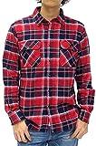 (ルーシャット) ROUSHATTE シャツ メンズ 長袖 チェックシャツ 16color M チェック5