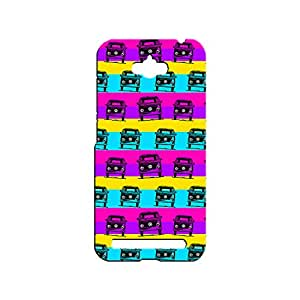 IMPEX Designer Printed Back Case / Back Cover for Asus Zenfone Max (Multicolour)