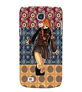 Fuson 3D Printed Girly Designer back case cover for Samsung Galaxy S4 Mini - D4128