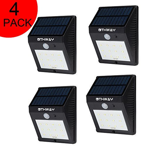 Sensitive Motion Detection Step Lights OTHWAY Very Bright Wall Lights Hardware Renewable Energy ...