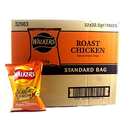 Walkers Crisps Roast Chicken x 32 1040g (Chicken Chips Walkers compare prices)