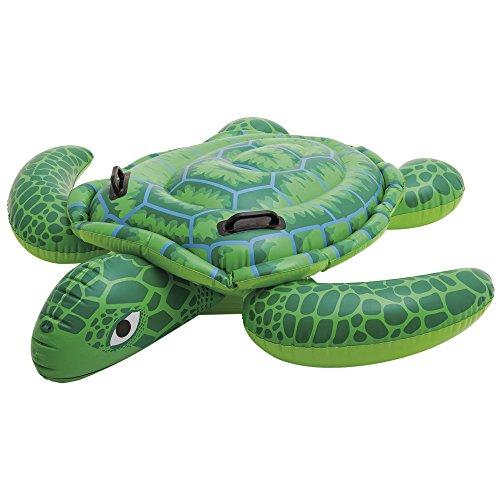 Intex 57524 - Cavalcabile Tartaruga, 150 x 127 cm, Verde