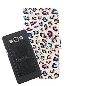 DooDa PU Leather Wallet Flip Case Cover With Card & ID Slots For Lava Iris X5 - Back Cover Not Included Peel And Paste
