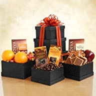 Godiva Tower of Fruit and Chocolate