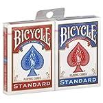 Paquet Cartes X 2 Jeu Bicycle - 1 Rou...