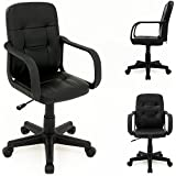 Desk chair armchair office chair bedroom pc computer furniture - Office seat seating