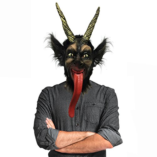 Holiday Christmas Krampus Mask By Off the Wall Toys