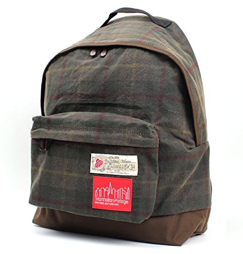 (マンハッタンポーテージ)ManhattanPortage The British Millerain Fabric Big Apple Backpack MP1209MLRN (D.Brown)