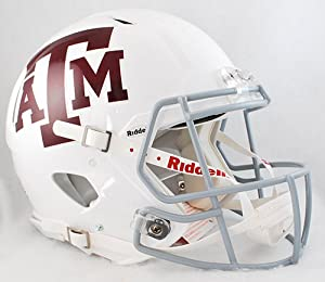 Buy Texas A&M Aggies Official NCAA Revolution Speed Pro Line Helmet by Riddell 326818 by Riddell