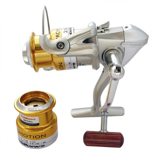 Super fishing Bass Spinning Reel new mirror R38