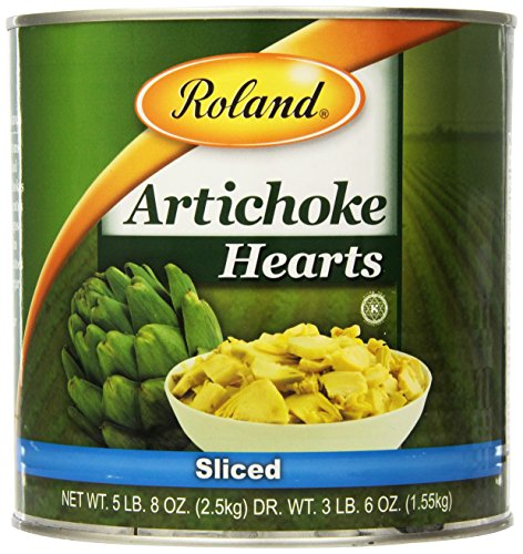 how to cut canned artichoke hearts