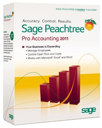 Sage Peachtree Pro Accounting 2011 [Old Version]