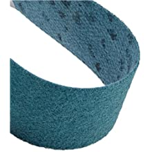 "Scotch-Brite Surface Conditioning Belt, 48"" Length x 6"" Width, Very Fine, Blue (Pack of 1)"