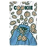 Cookie Crumble -- Sesame Street -- Fleece Throw Blanket