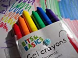 JUMBO TWISTABLE HALF SIZE CHUNKY GEL WAX CRAYONS by EARLY LEARNING CENTRE