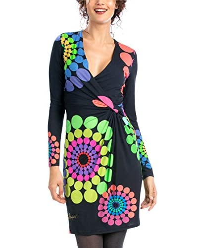 Desigual Kleid schwarz/mehrfarbig