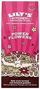 Lily's Kitchen Power Flower Organic Treats 150 g (Pack of 4) from Lily's Kitchen